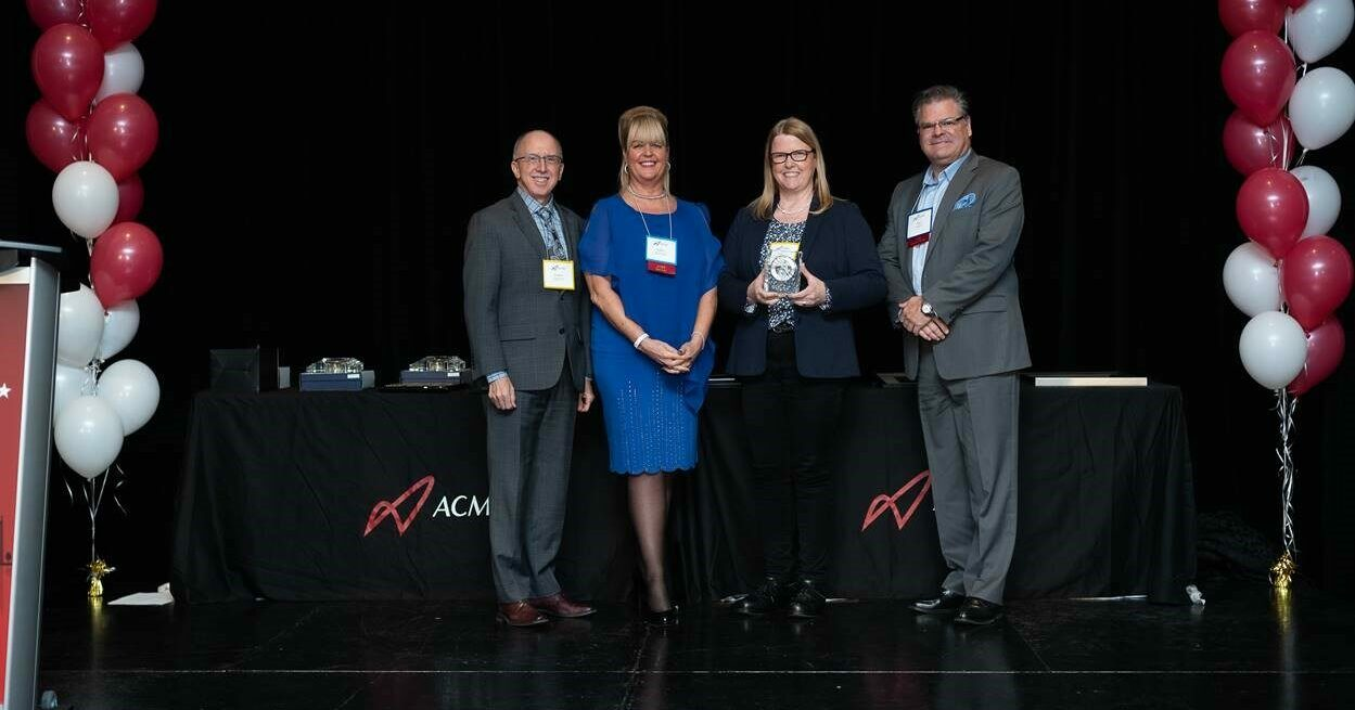"""Sally Thompson Awarded """"Distinguished Service Award"""" from CCI and the """"Associate of the Year"""" award from ACMO"""
